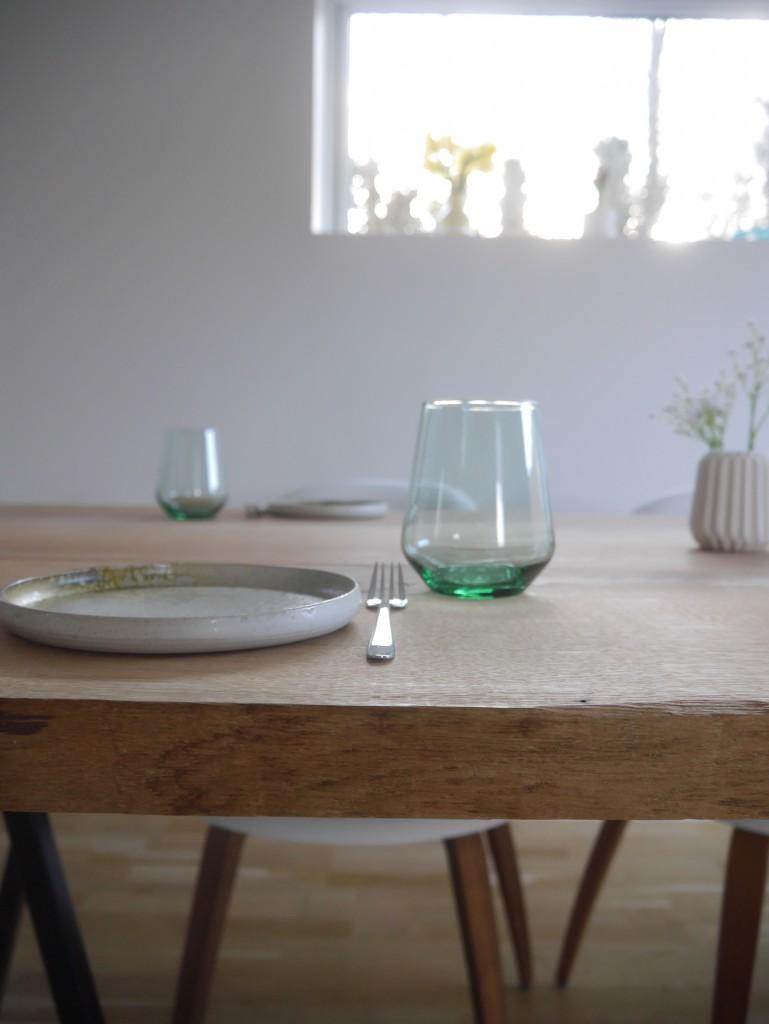 Plankebord: Lav dit eget spisebord af ege-planker Рp̴ 2 dage ...