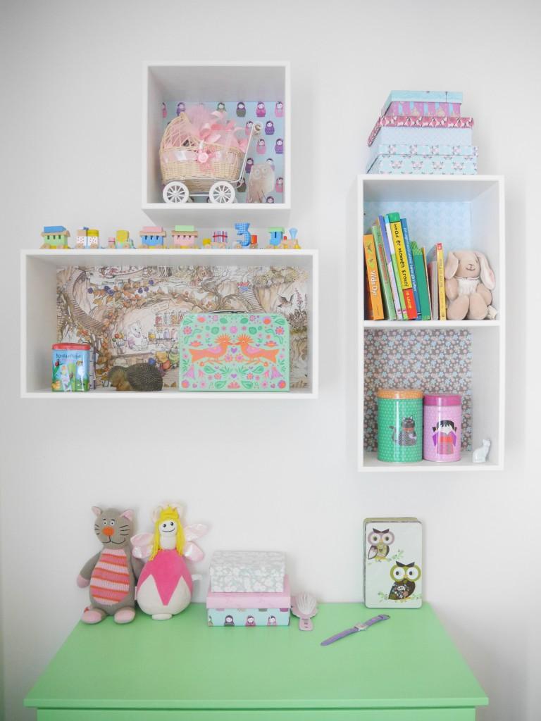 Avanceret Bogkasser til opbevaring af legetøj til børnenes værelse | 2verdener XH92